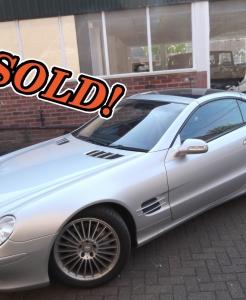 Mercedes SL500 Convertible
