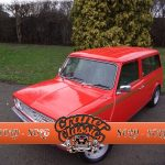 1979 Mini Clubman Estate in red